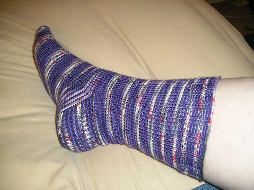 Dracula Sock 1