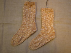 My first knitted socks!