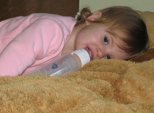 Maddie on a rug