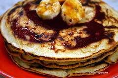 Vanilla Crepes (CreatiVegan.net) Tags: food postre recipe dessert vegan sweet comida banana platano vegetarian crepe vanilla syrup pancake desayuno torta vegetariano vegano receta vainilla tortita sirope creativegan