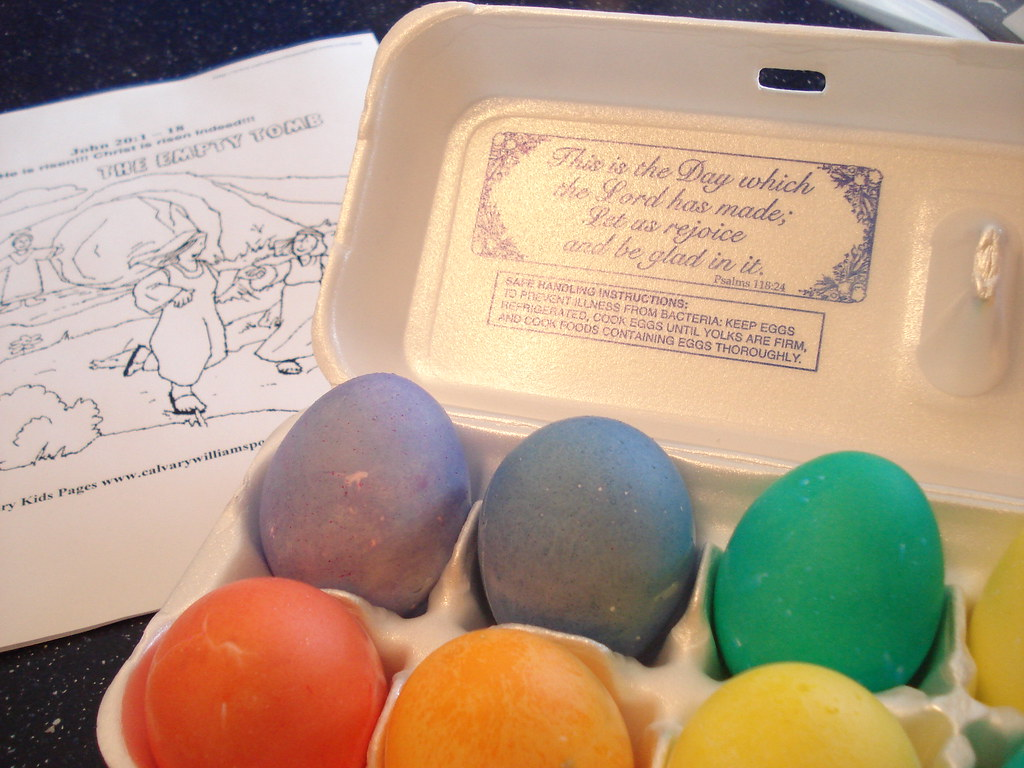 Dyed Eggs