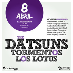 Flyer The Datsuns 10x10