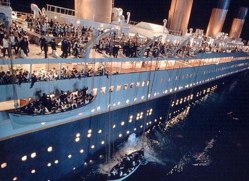 hundimiento titanic
