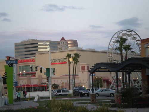 Cinemark, Borders, Ferris Wheel - The Pike