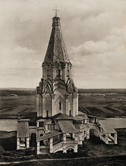( ) Tags: old bw film church sepia vintage russia moscow retro kolomenskoye ascension ussr 1960