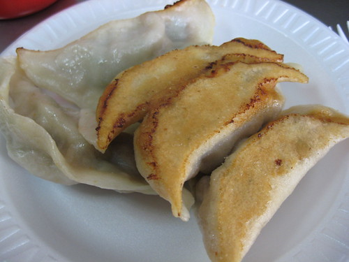 Five Fried Dumplings for A Dollar