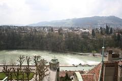 Il fiume Aare #3 (Davide Restivo) Tags: panorama slr digital canon river eos rebel switzerland reflex kiss europa europe view fiume bern dslr svizzera veduta aare berna xti 400d