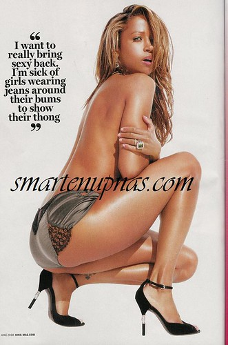 king magazine stacey dash