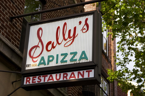 Sally's Apizza - Restaurant - 237 Wooster Street, New Haven, Connecticut, United States