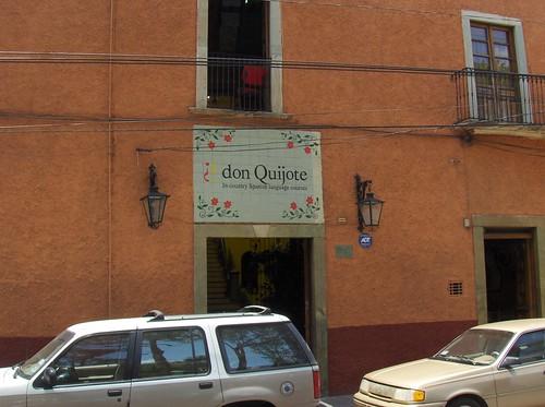 Escuela ¿don Quijote? Guanajuato
