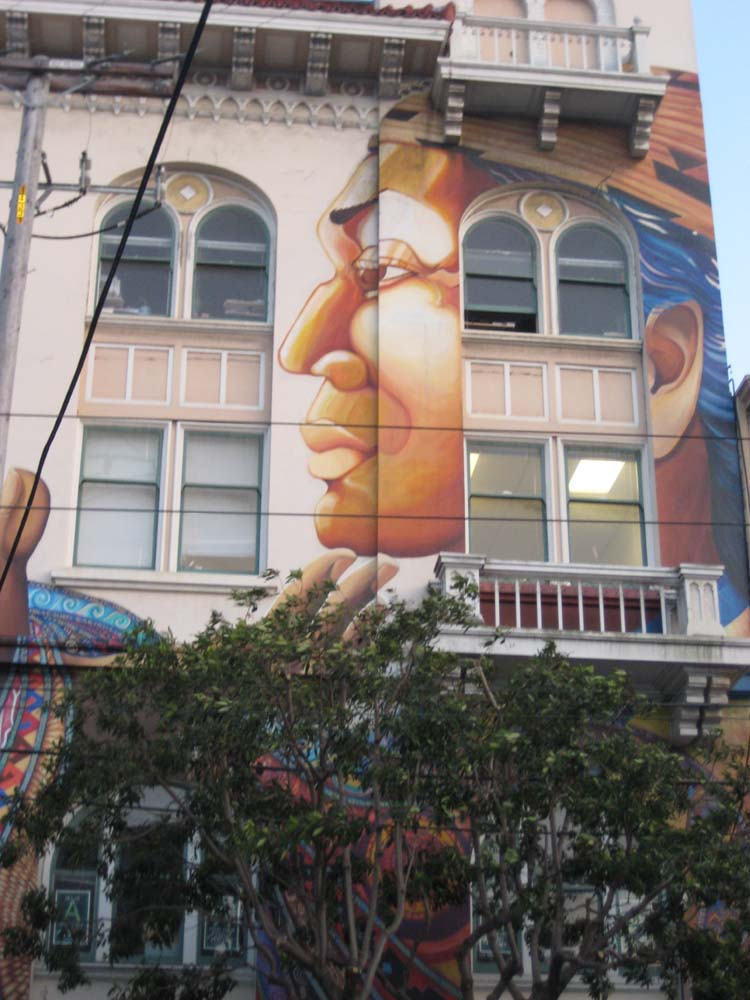 women's building mural (right)