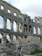 Roman Amphitheatre (ChrisYunker) Tags: croatia pula romanamphitheatre