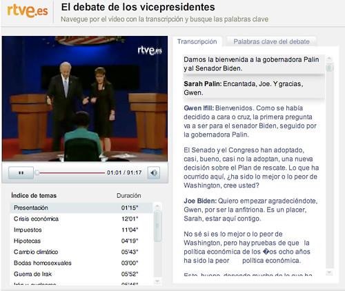 interfaz de rtve.es