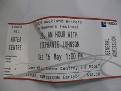 An hour with Stephanie Johnson ticket