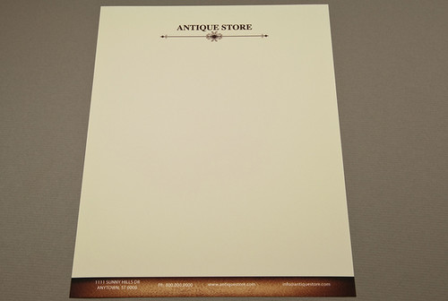 Antique Store Letterhead