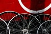 Spokes (mario bellavite) Tags: netherlands amsterdam bike bicycle wheel europe shot spokes wheels best explore rims gears mariobellavite
