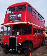 London transport RTL139 at Wisley 11/04/10 (Ledlon89) Tags: bus london transport titan lt leyland cobhambusmuseum rtbus lbpt alltypesoftransport