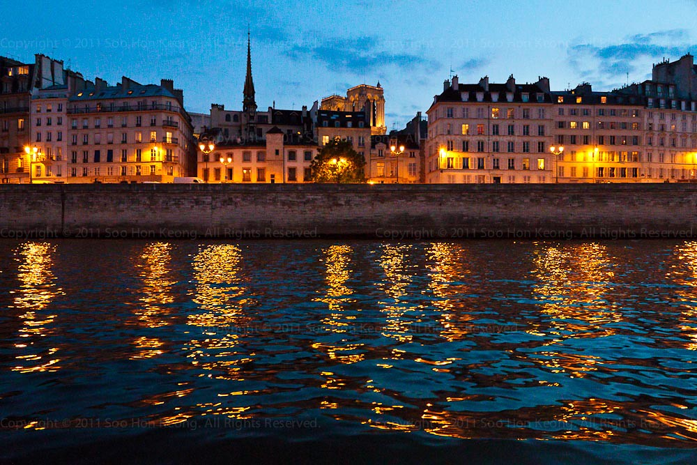 River Seine Cruise View