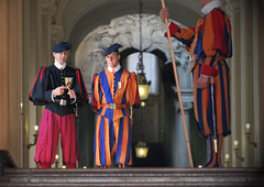 Vatican Swiss Guards (appow) Tags: italy pope vatican rome canon soldier army guard 2007 swissguards           vaticanswissguards