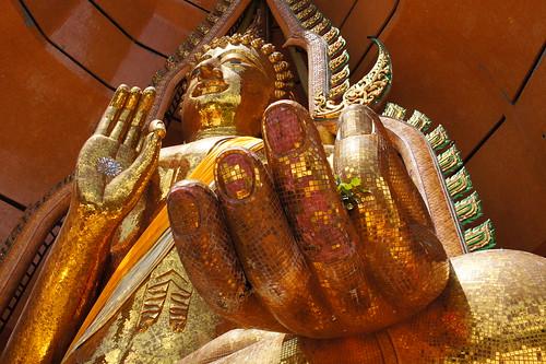 Wat Tham Suea in Kanchanaburi, Thailand