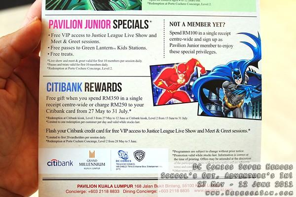 DC Comics Super Heroes - Pavilion KL-11