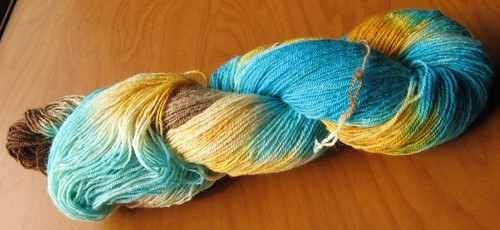 D dyed sock yarn