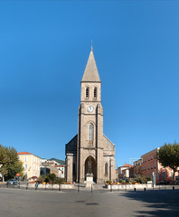 eglise grand\\\'combe (La Grand-Combe, Languedoc-Roussillon, France) Photo
