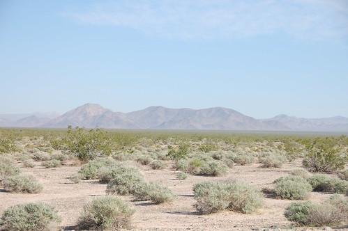 Montañas Desierto Mojave