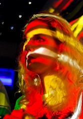'60s Homage #1 (tripowski) Tags: portrait girl nikon f14 sigma clubbing colourful baraka 30mm 30mmf14 d80