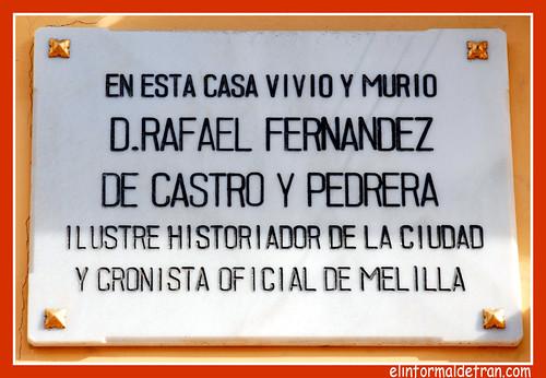 Placa Fernandez de Castro