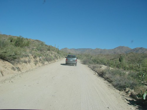 Following JimRo to Four Peaks Wilderness Area