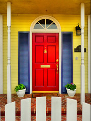 A Red Door (Mine Beyaz) Tags: california door reddoor kapi diamondclassphotographer ysplix colourartaward top20vivid kirmizikapi minebeyaz