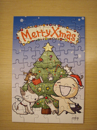 7th puzzle(54 pieces) Merry X'mas~