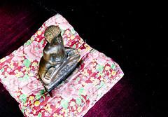 Cushioned buddha