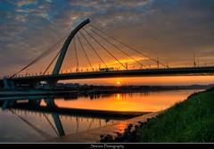 大直橋夕照, DaZhi Bridge, Taipei (Sherwin_andante) Tags: bridge taipei 台北 2008 soe hdr 大直橋 blueribbonwinner 10faves explored aplusphoto 200801 k100ds 2008mychoice 2008myfav