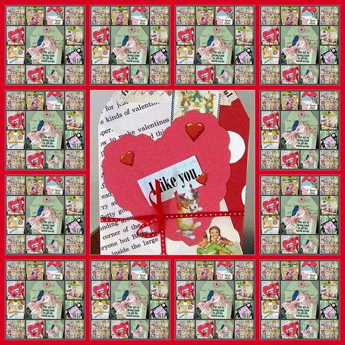 Valentine Be Mine wrapping paper