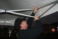 Rex Helps with the Tent (Timothy Totten) Tags: ferranpark eustis125thcelebration carandboatshow marciaarnold