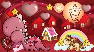 deene red valentine