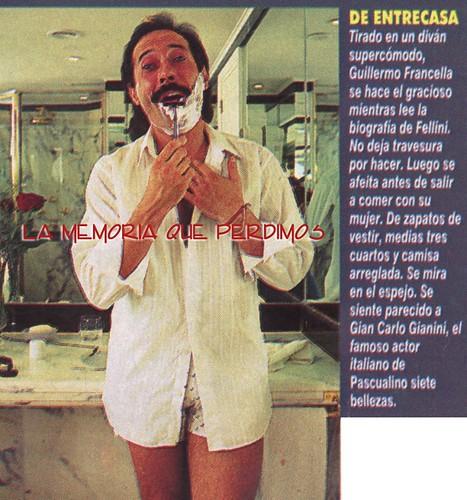 francella en el baño 1994