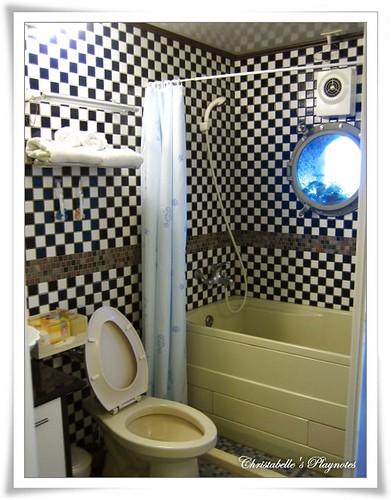 八番坑&41民宿 蘭花房浴室