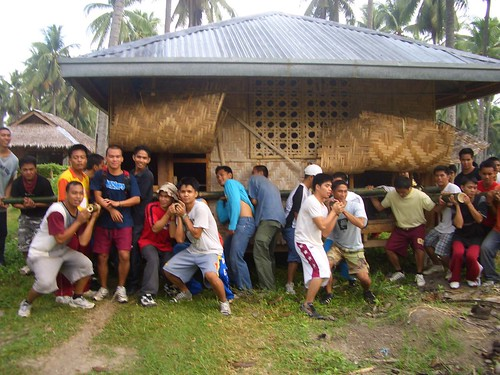 Pinoy,Filipino,Pilipino,Buhay,Life,people,pictures,photos,rural traditional, rural, scene, Philippines, man, men house lifting moving