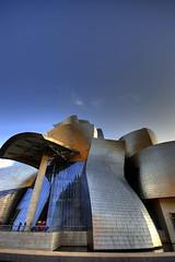 Curvas En El Museo Guggenheim, Bilbao/Bilbo