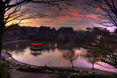 Missin Old Days ='( - Scarborough </3 (Abdulrahman BinSlmah) Tags: china park new uk sunset england cloud sun lake tree london lamp high nikon dynamic weekend ducks sigma saudi scarborough range hdr highdynamicrange d300 peasholm peasholmpark s0me10ne1 d7me