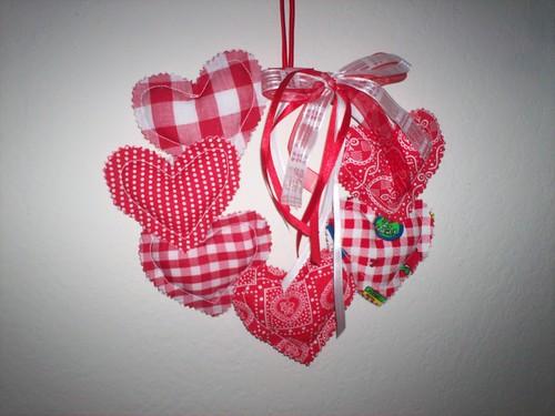 Hanging Hearts Swap Valentine