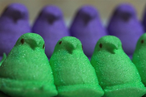 My Peeps in a Row