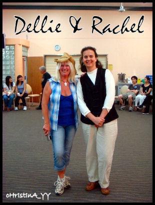 Dellie and Rachel