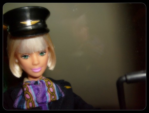 Barbie flight attendant by mauren veras, on Flickr