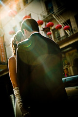 omg (gwynethcolleen) Tags: sanfrancisco groom bride rachel chinatown ali flare explore14