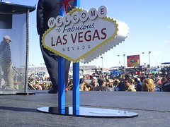 The little Las Vegas Sign
