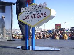 The little Las Vegas Sign